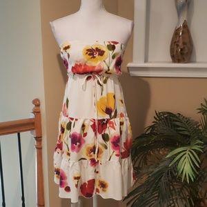 Trixxi tube floral dress